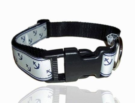 Sailor Anchor Dog Collar | GWAG