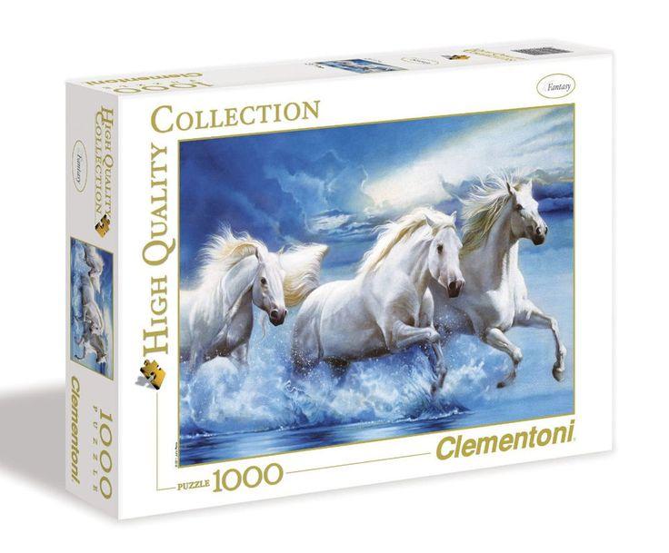 Clementoni Puzzle 1000 Teile Majestätische Hengste (39200) Pferde in Spielzeug, Puzzles & Geduldspiele, Puzzles | eBay