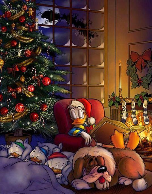 Pato Donald y sus sobrinos (Navidad)