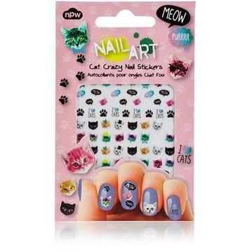 Nail Art - Nagelklistermärken, Katter