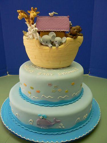 best  noahs ark cake ideas on   ark recipes, noah, Baby shower invitation