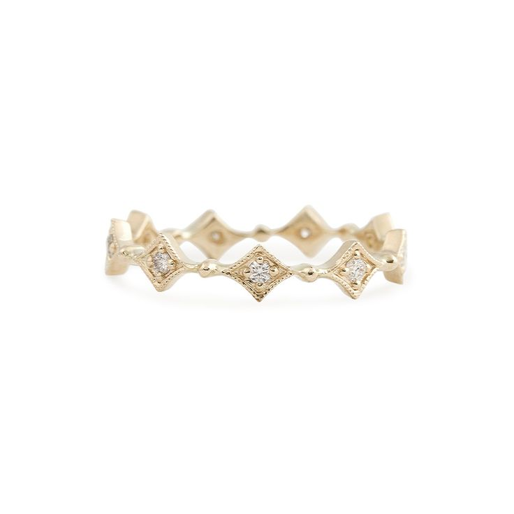 Star Diamond Eternity Ring – Envero Jewelry