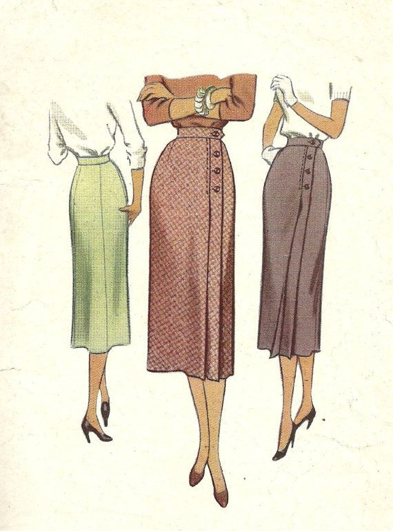 McCall 8491 / Vintage 50s Sewing Pattern / Wrap by studioGpatterns
