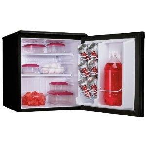 danby dar195bl 1.8 cu ft all refrigerator black