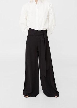 Palazzo trousers -  Women | MANGO USA