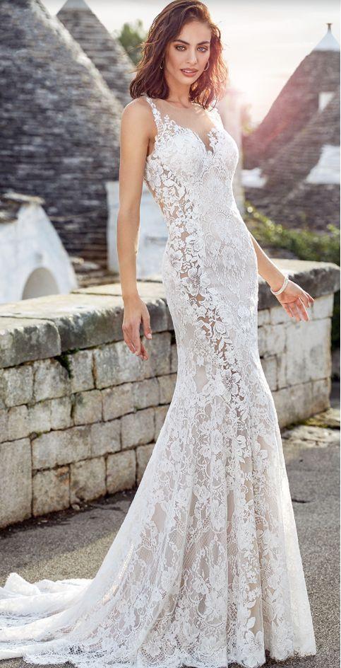 Featured Dress: Eddy K; Wedding dress idea.