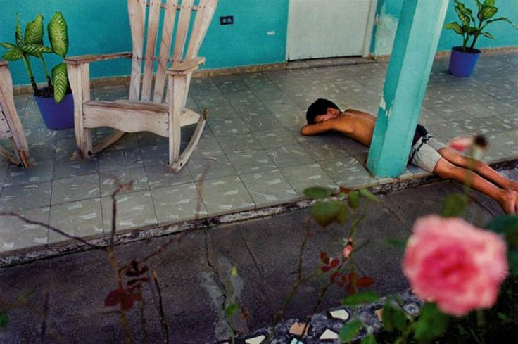 Ernesto Bazan - Boy Sleeping, Viñales (Cuba)