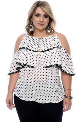 Resultado de imagem para blusas plus size