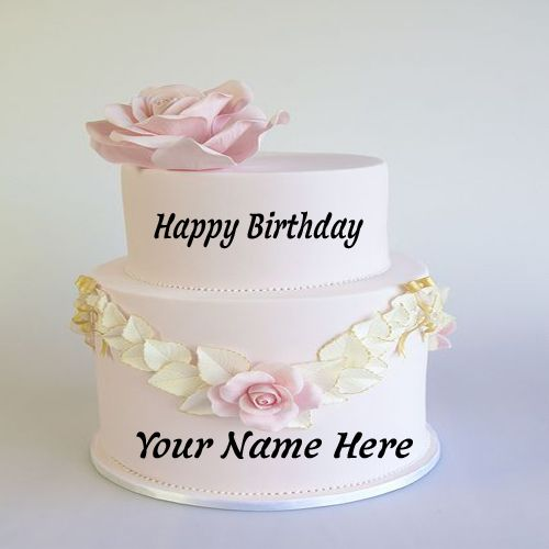 Images Of Cake In Which Name Can Be Written : 25+ best ideas about Birthday cake write name on Pinterest ...