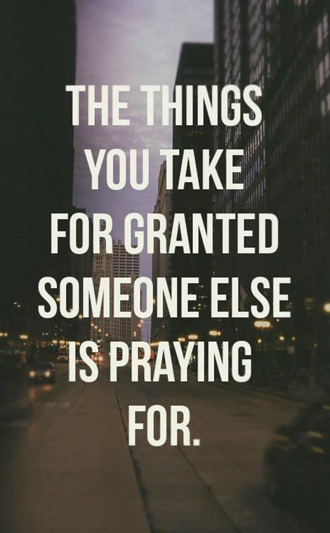 Sadly this is True Thats why its necessary to pray and give thanks for what u have and hope that those who dont soon get it too