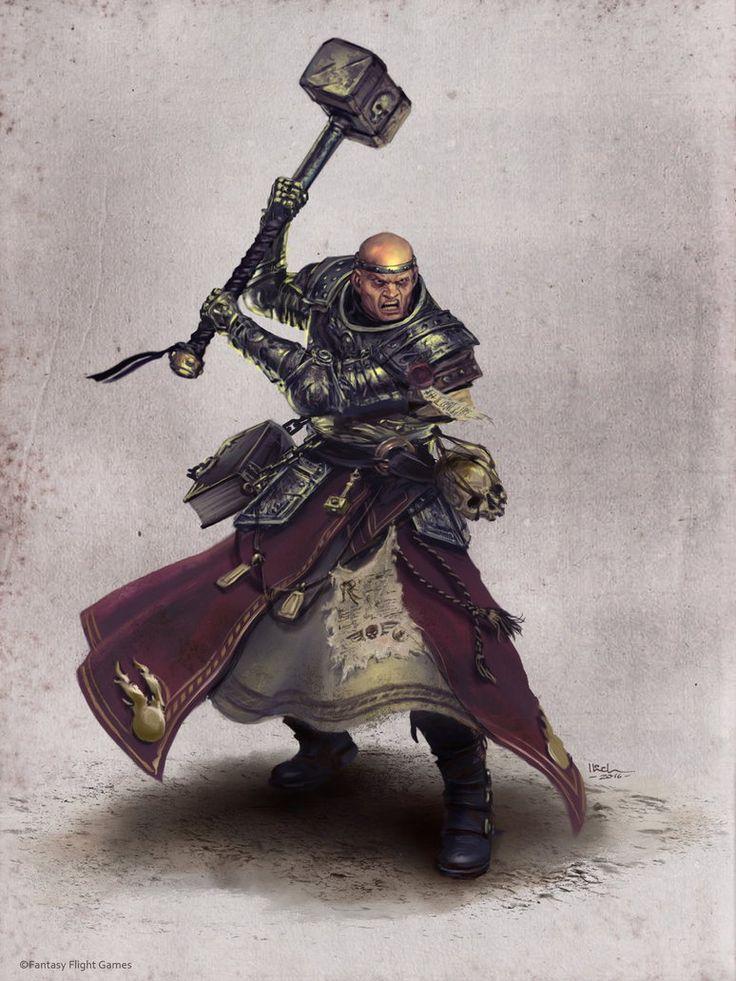 WarriorPriest Ilich Henriquez by Ilacha on DeviantArt