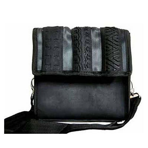 Recycled Urban Tire & Tube Messenger Bag
