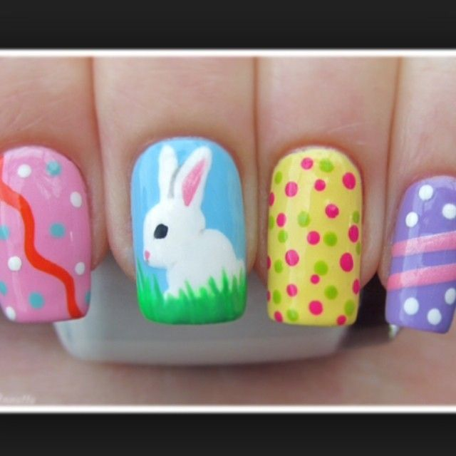 129 best easter nails images on pinterest easter nail art nailsloveexx easter nail nails nailart prinsesfo Choice Image