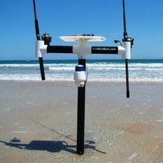 Cadillac of surf rod holders really nice fishing rods for Cool fishing poles