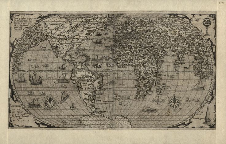 antique world map, giclee reproductions of antique maps, unframed or framed in vintage burl frame. Made in USA by MUSEUM OUTLETS  #worldmap  #antiquemap  #madeinusa