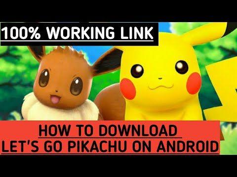 pokemon lets go pikachu iso file download