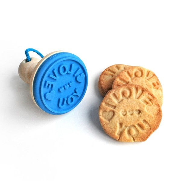 Stempel do ciastek - I Love You / I Love You cookie stamper