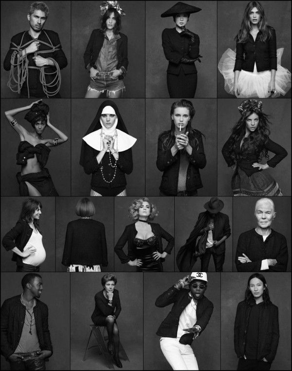 171 best THE LITTLE BLACK JACKET BY CHANEL images on Pinterest ...