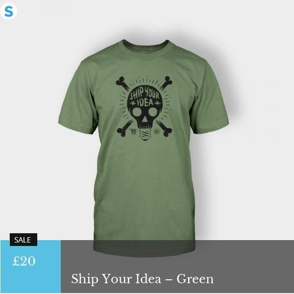 Post title: Ship Your Idea – Green  Post tag as hashtag:   Post tag:   Post category as hashtag: #Clothing #T-shirts  Post category: Clothing T-shirts  Post price: £20  URL of the post: http://vidooj.ir/social_hqt/product/ship-your-idea/?attribute_pa_color=green  Excerpt of the post:   Author name: admin  Blog/Site name: social HQT