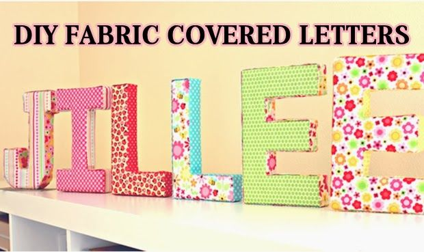 fabric covered letters on pinterest cover letters fabric covered
