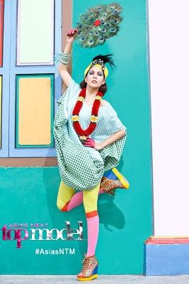 Scarlet Bindi - South Asian Fashion: Asia's Next Top Model: Little India