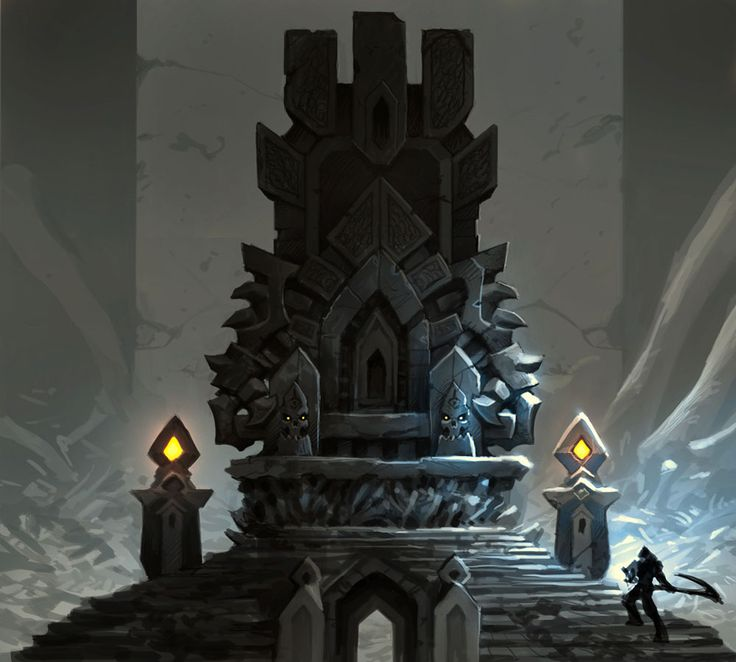Bone Altar Early Concept - Characters & Art - Darksiders II