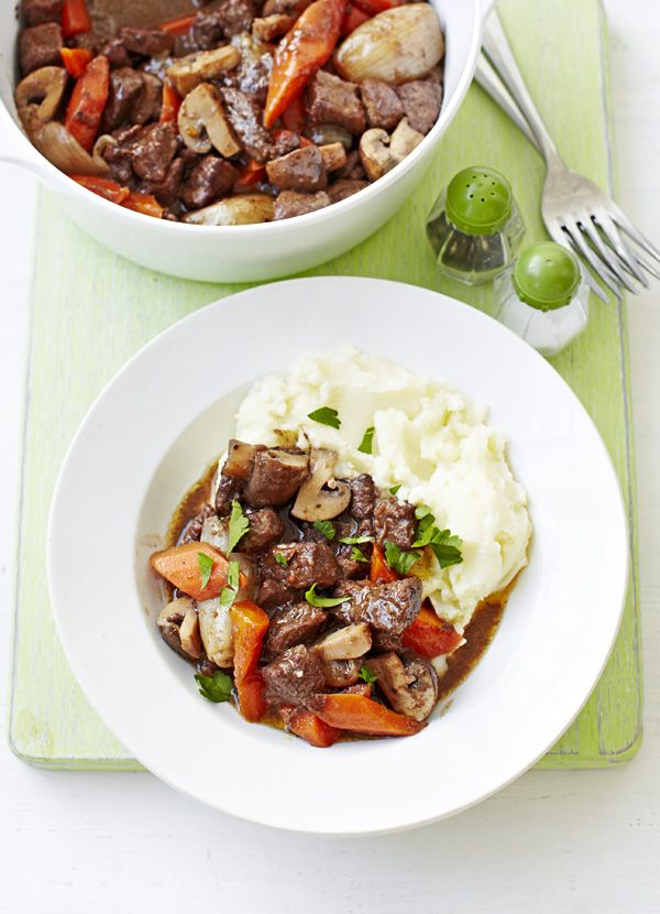 Go on....just enjoy yourself!! One of the best recipe,for any time of the byear !!Skinny beef bourguignon