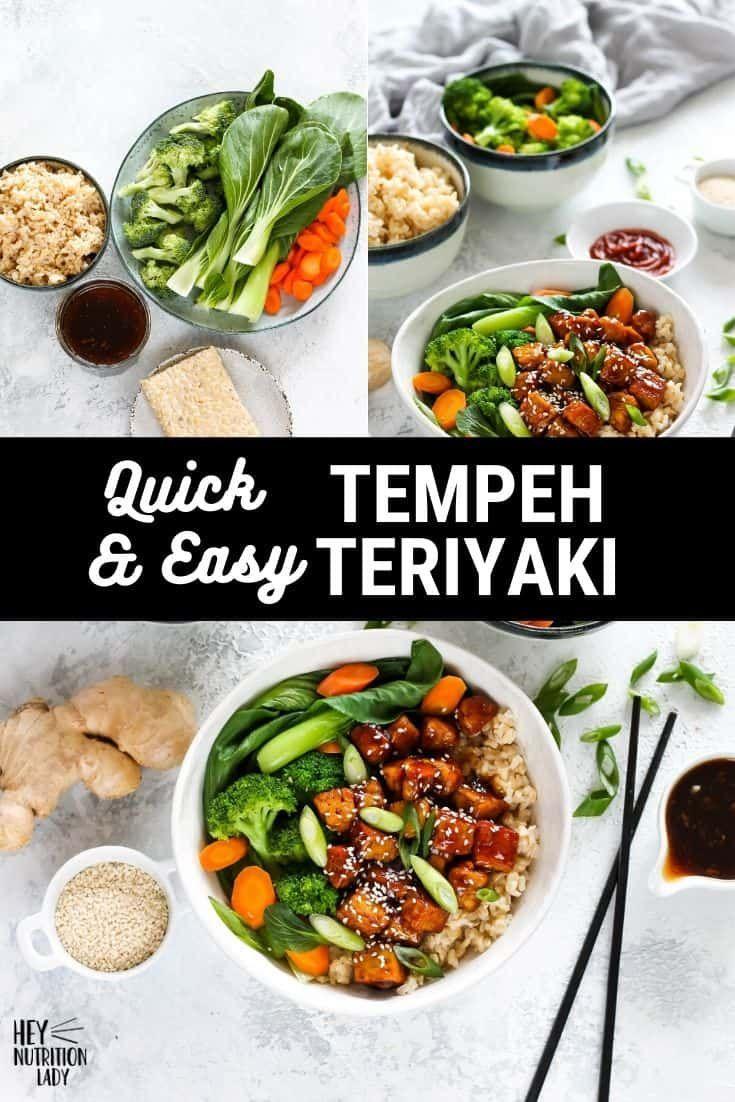 Tempeh Teriyaki In 2020 Easy Vegan Dinner Soy Recipes Plant Based Recipes Dinner
