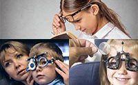 С каждым годом растет количество людей у которых отмечаются те или иные нарушение зрения. Чаще всего все патологии начинают проявляться еще в подростковом возрасте. Уже к окончанию школы 26%-32% детей страдают каким-либо нарушением зрения. Проявлениями нарушения зрения является искаженное зрительное восприятие формы, цвета или величины предмета.  #глаза #зрение #нарушения #дети #медицина