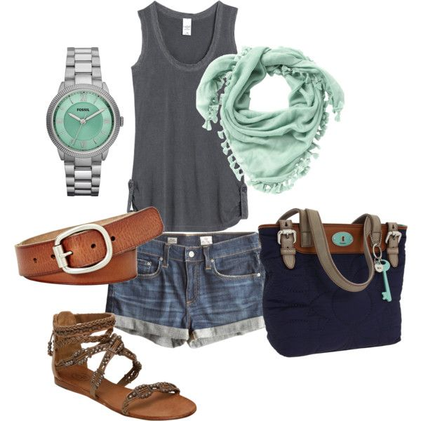 Pretty much the perfect outfit for anywhere this summer! And I need this watch!