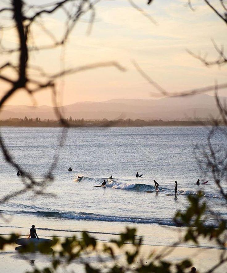 "437 Likes, 10 Comments - Travel Photographer (@saltyluxe) on Instagram: ""Goodnight world ✨🌙💕 'The Pass' Byron Bay at sunset xxx - #winyourshot @austtraveller…"""