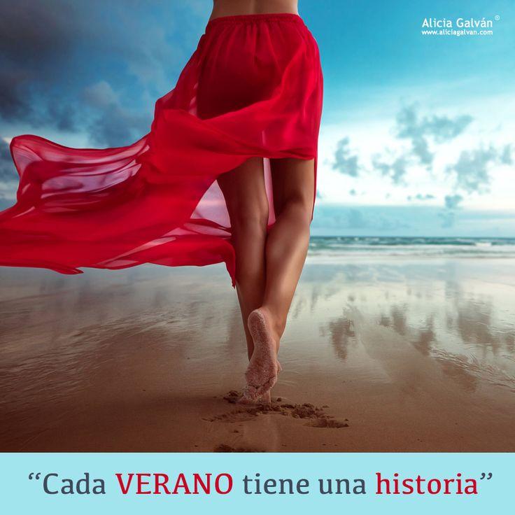 Comenzamos la semana con fuerza. El #verano es para soñar, desconectar, disfrutar, pero también para vivirlo. http://www.aliciagalvan.com/horoscopo/anual/ #horóscopo