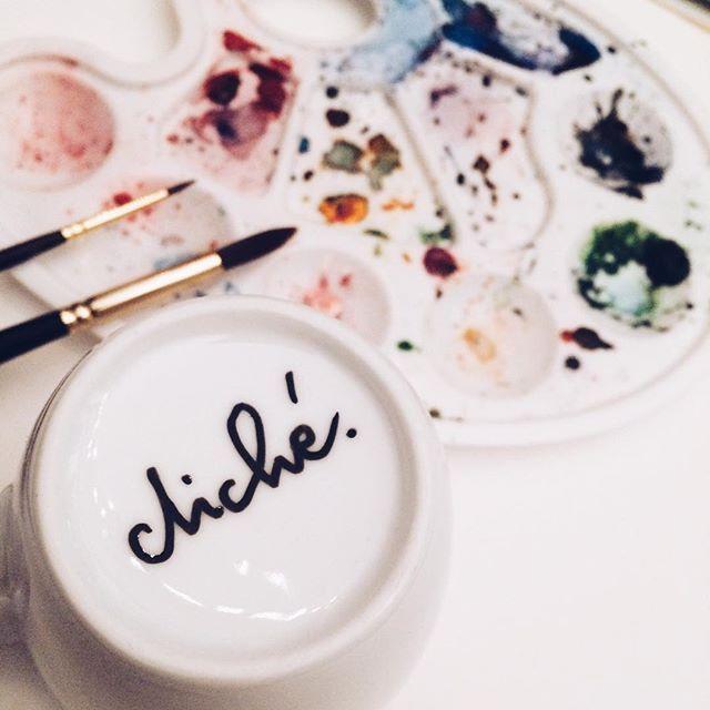 #colors #watercolor #art #love #handmade #artistic #artlover #muglover #mug #mugs #cliche #cliche_mugs #calligraphy #moderncalligraphy