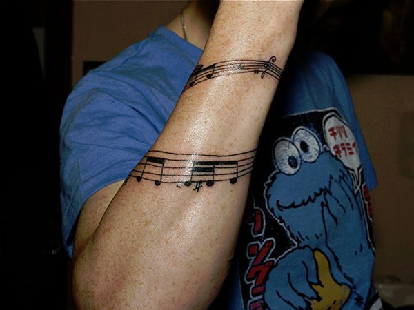 26 Charming Music Tattoos For Guys - SloDive