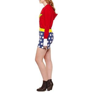 Wonder Woman Juniors Romper - 400205 | trendyhalloween.com