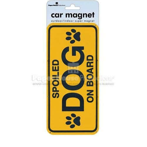 Magnets For Cars >> Spoiled Dog Car Magnet | Girly Car Accessories | Pinterest | Dog car, Car magnets and Cars