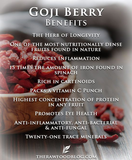 Goji Berry Benefits ☆Get your Daily Serving here: www.zurvita.com/natashanoelle