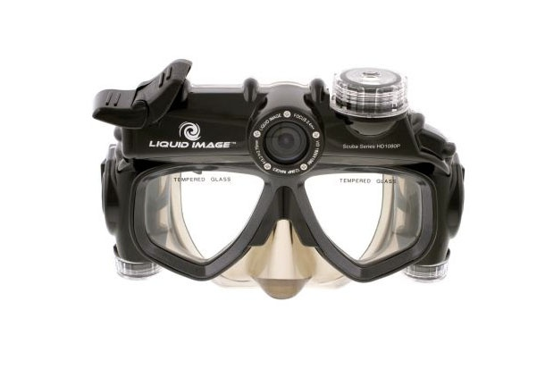 LIQUID IMAGE Scuba Series HD 1080p Wide Angle Camera Mask