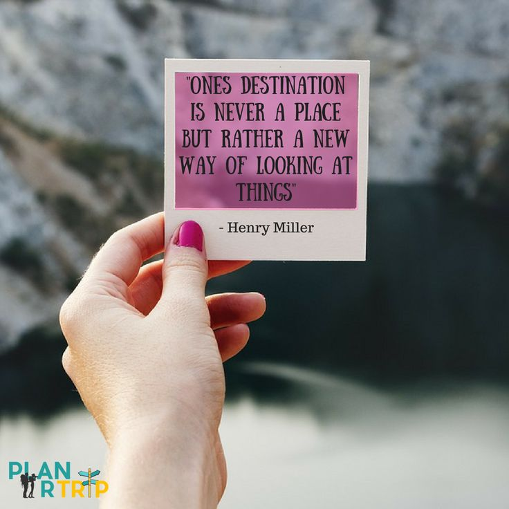 """Travel Quote - """"Ones destination is never a place but rather a new way of looking at things""""  Check out how to plan a trip here. Start looking at things differently!"""