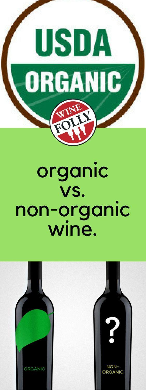 Organic vs. non-organic #wine.