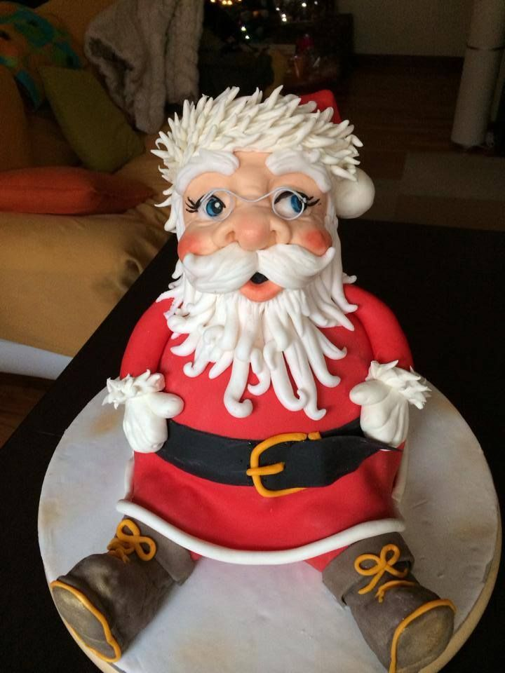 babbo natale cake