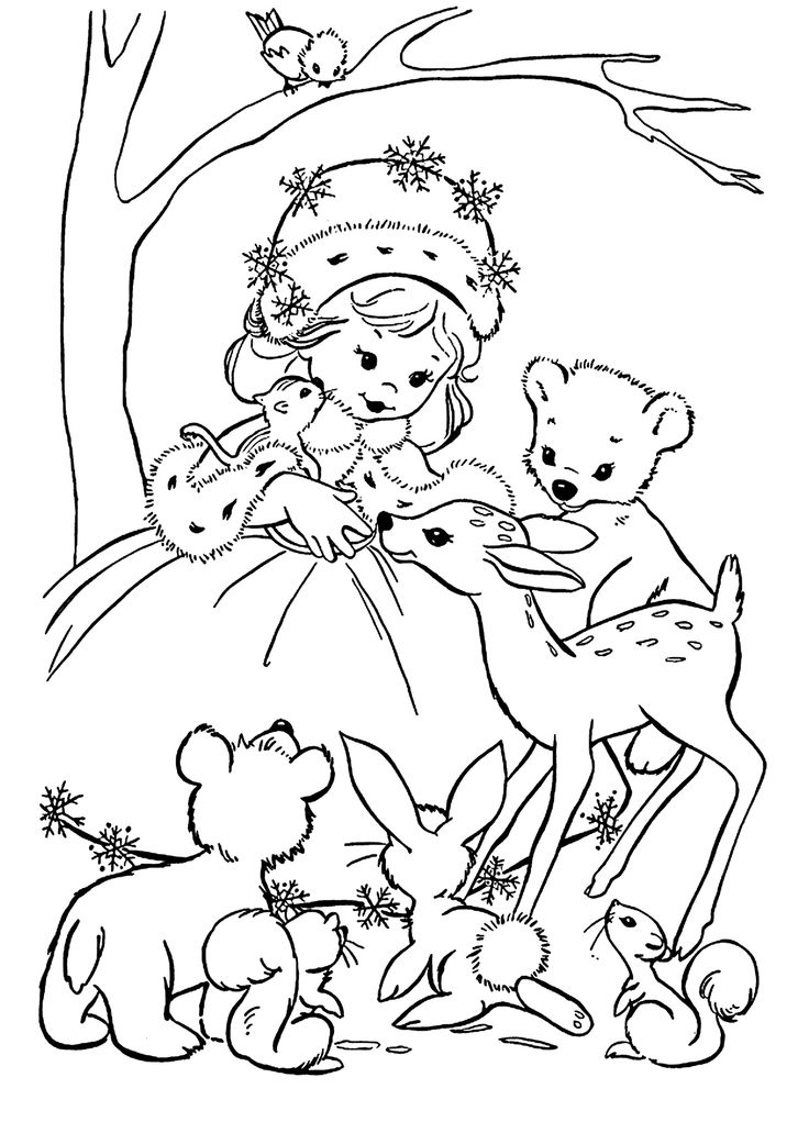 67 Best Holidays Coloring Pages For Kids Images On