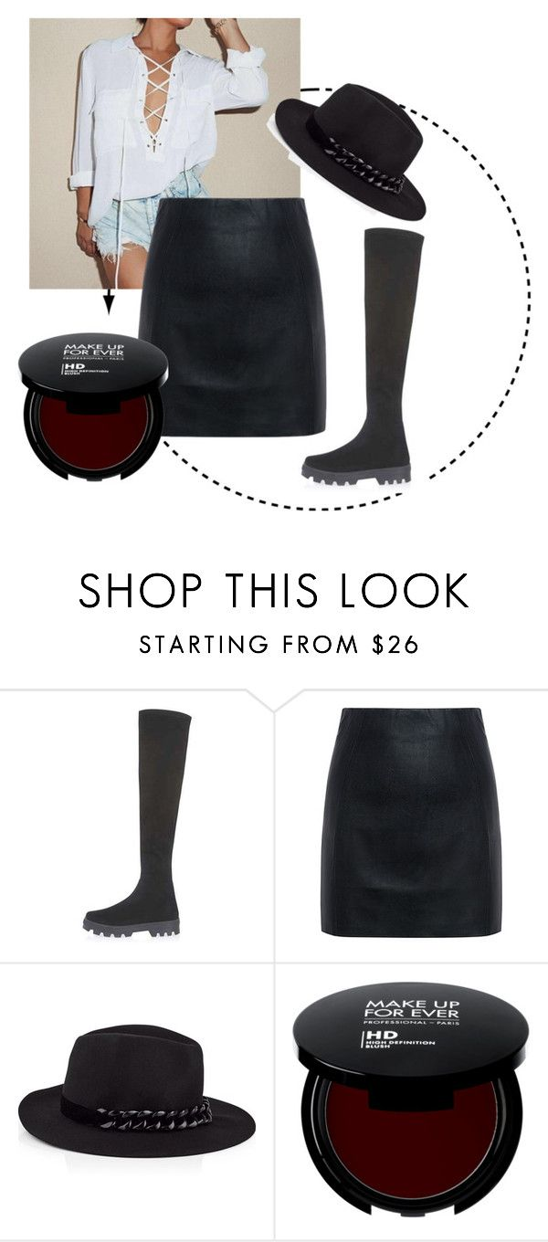 """549"" by alena-mendesh on Polyvore featuring мода, Topshop, McQ by Alexander McQueen и Karl Lagerfeld"