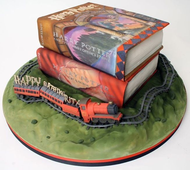 Harry Potter Birthday Cake made by Charm City Cakes
