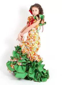 Trajes de Flamenca Niña Baratos, Talla 10