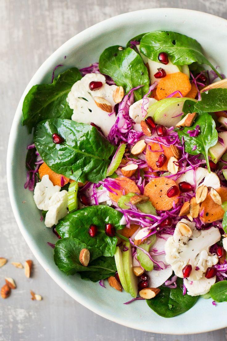 vegan winter salad