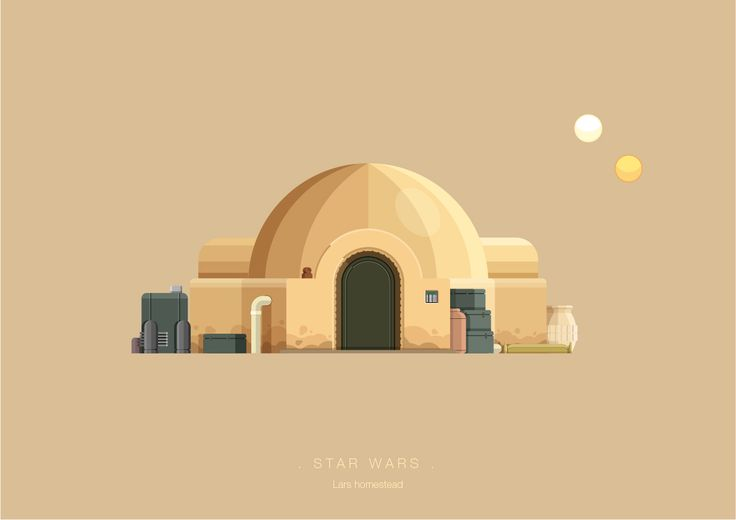 Frederico Birchal, Star Wars, Famous Movies & TV Shows Setting, 2015