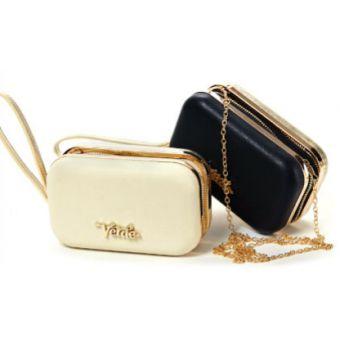 Γυναικεία τσάντα Verde, από δερματίνη, με αλυσιδάκι για τον ώμο και χερούλι για το χέρι 01-0000762,Verde