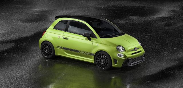 The New Abarth 595 With Images Fiat 500 Fiat Fiat Abarth