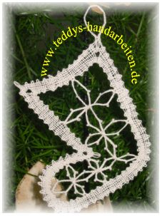 Bobbin lace Stocking Christmas